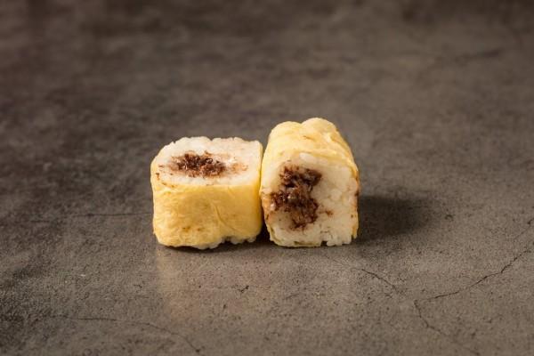 Egg roll chocolat banane