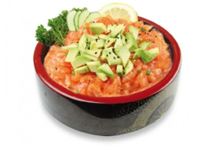 Menu chirashi Tartare de saumon