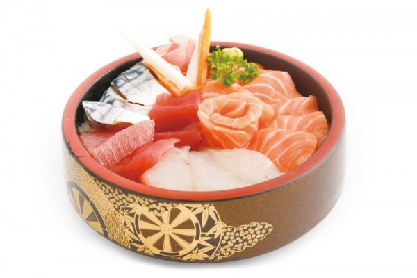 Menu chirashi Assortiment