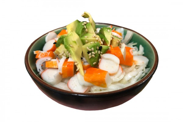 Salade de choux surimi &...