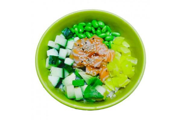 Poke saumon