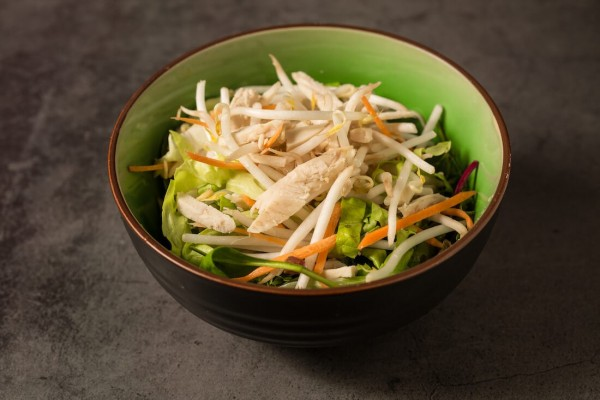 Salade soja au poulet