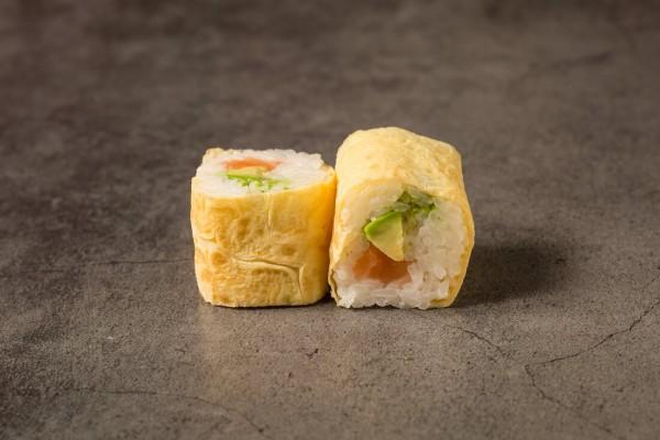 Egg roll Saumon avocat