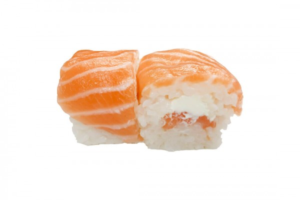 Cheese roll saumon