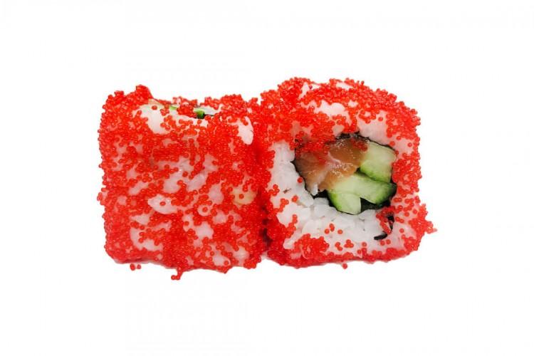 Masago roll Saumon concombre