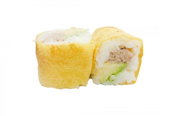 Egg roll Thon mayonnaise...